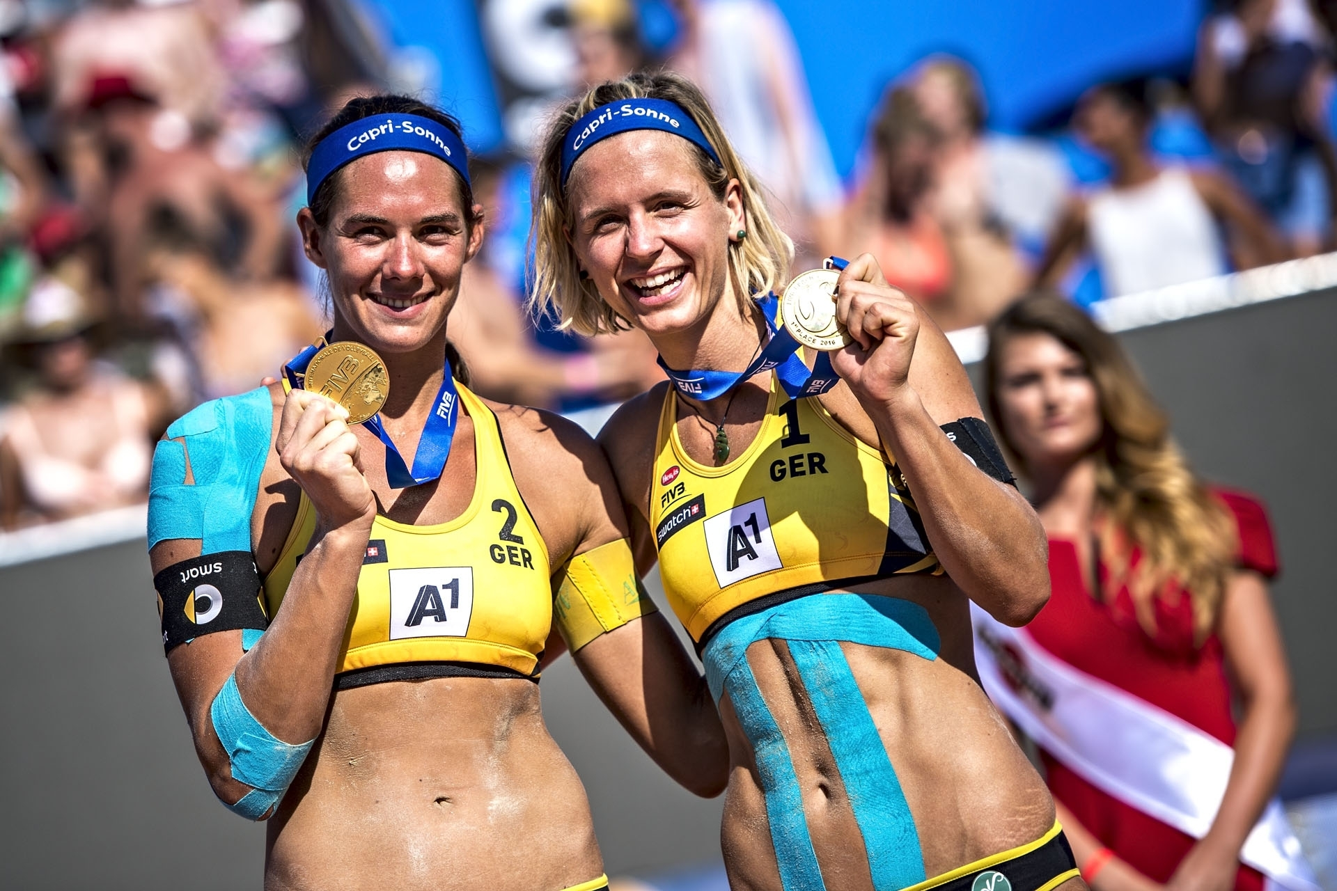 It's been a truly golden 2016 for Kira and Laura. Photocredit: Sebastian Marko.