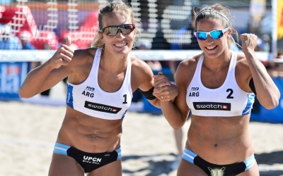 Gallay/Klug topple Olympic champs!