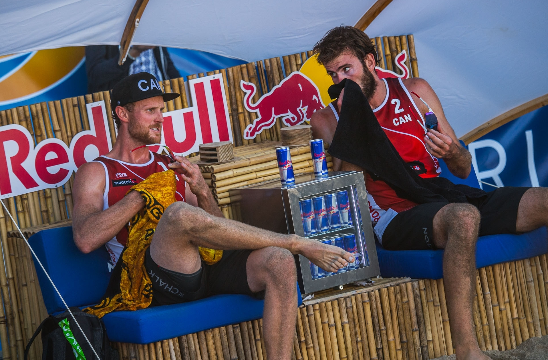 Saxton/Schalk will go in search of their first victory at the #TorontoFinals on Friday. Photocredit: Joerg Mitter.