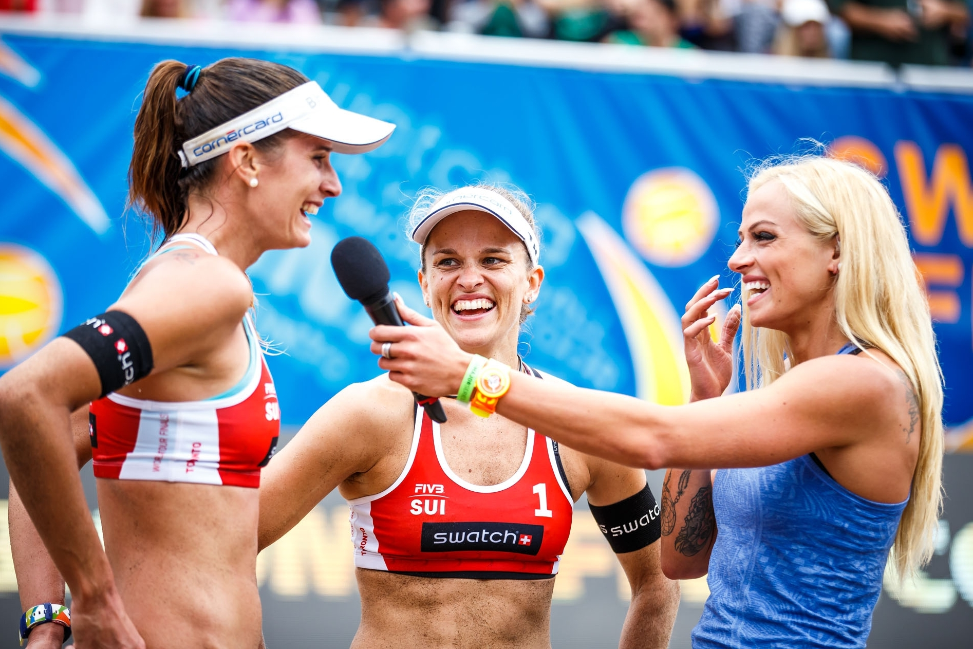 Can Nadine's last ever match on the sand end in gold? Photocredit: Martin Steinthaler