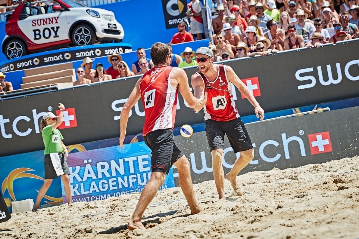 Canada's Ben Saxton and Chaim Schalk have secured a wildcard for the #TorontoFinals. Photocredit: Andreas Langreiter.